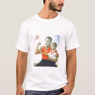 メルボルンは体育館のTシャツを炎にあてます Tシャツ
