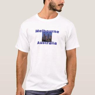 メルボルンオーストラリアのクールな写真撮影のTシャツ Tシャツ