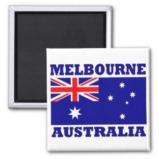 メルボルンオーストラリアの旗 マグネット
