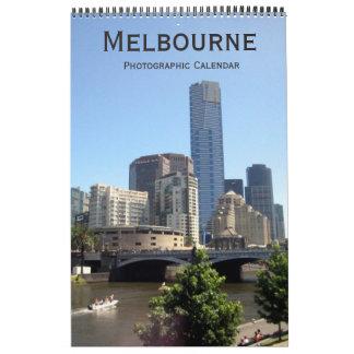 メルボルンオーストラリア カレンダー