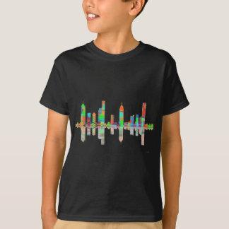 メルボルンビックのスカイライン Tシャツ