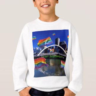 メルボルン、オーストラリアのプライド スウェットシャツ