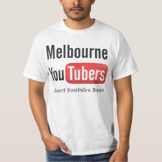 メルボルンYoutubers Tシャツ
