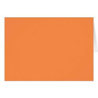 メロンのオレンジかわいらしい固体OSCB46背景だけ カード