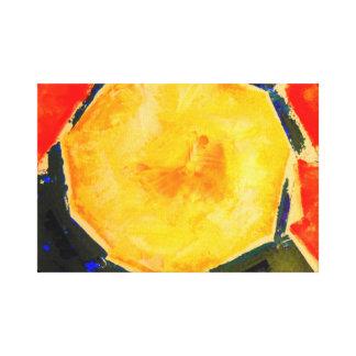 メロンのモダンな静物画のファインアートのプリント キャンバスプリント