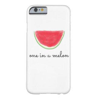 """""""メロンの1つ""""のiPhoneの場合 Barely There iPhone 6 ケース"""