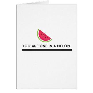 メロンの1つ カード