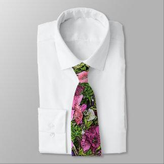 メンズの花のネクタイのペチュニア ネクタイ