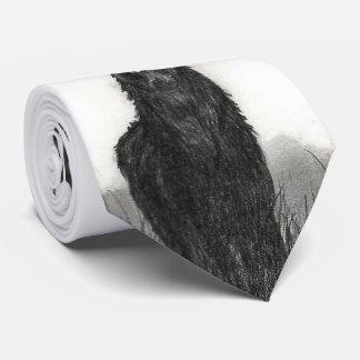 メンズオオシカの雄鹿のデザインのタイ ネクタイ