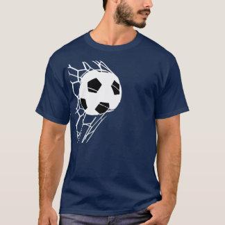 メンズサッカーのワールドカップはティー10を遊ばします Tシャツ