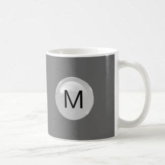 メンズモノグラムのコーヒー・マグ コーヒーマグカップ