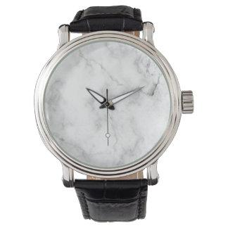 メンズ大理石のアクセントの彼のための最小主義の腕時計|のギフト 腕時計