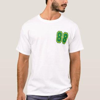 メンズ性能マイクロ繊維筋肉T (銀) Tシャツ