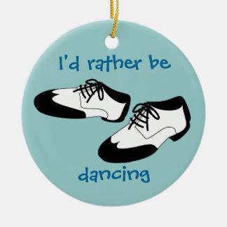 メンズ振動ダンスはIDにむしろ踊っていますスパッツを蹄鉄を打ちます セラミックオーナメント