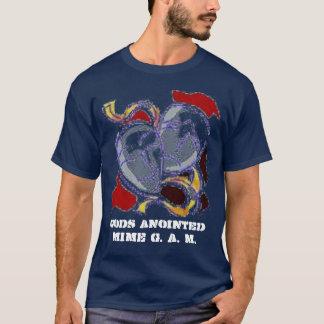 メンズ暗闇のTシャツ Tシャツ