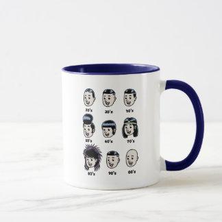 メンズ毛の歴史 マグカップ