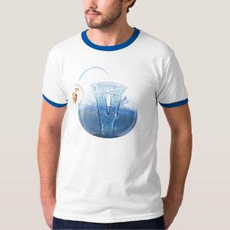 メンズ魚ボール水Tシャツ Tシャツ
