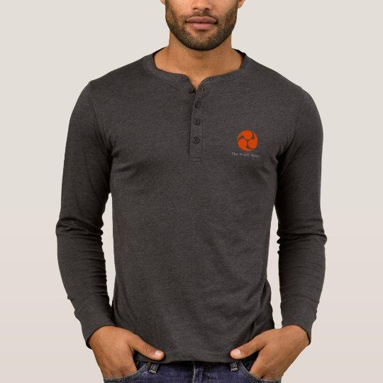 メンズ Canvas ヘンリー 長袖シャツ Tシャツ