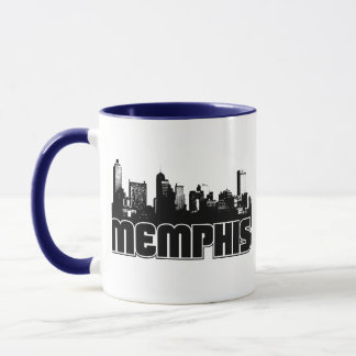 メンフィスのスカイライン マグカップ