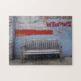 メンフィスのベンチ ジグソーパズル