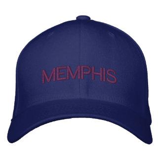 メンフィスの帽子 刺繍入りキャップ