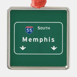 メンフィステネシー州TNの州間幹線道路の高速道路: メタルオーナメント
