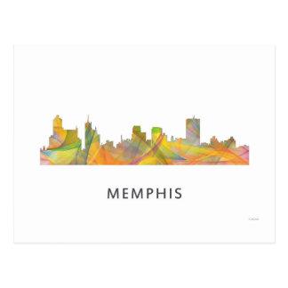 メンフィス、テネシー州のスカイラインWB1 - ポストカード