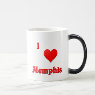 メンフィス -- 赤い モーフィングマグカップ