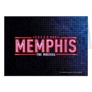 メンフィス-音楽的なロゴ カード
