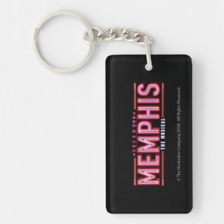 メンフィス-音楽的なロゴ キーホルダー