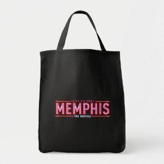 メンフィス-音楽的なロゴ トートバッグ