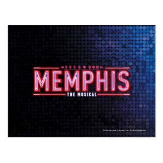 メンフィス-音楽的なロゴ ポストカード