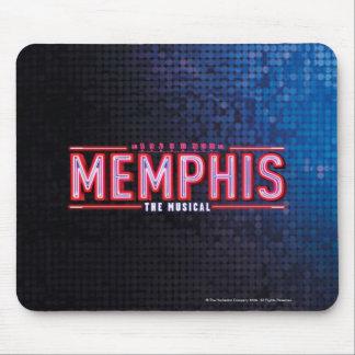 メンフィス-音楽的なロゴ マウスパッド