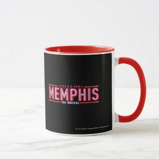 メンフィス-音楽的なロゴ マグカップ