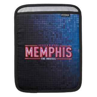 メンフィス-音楽的なロゴ iPadスリーブ