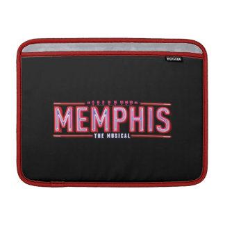 メンフィス-音楽的なロゴ MacBook スリーブ