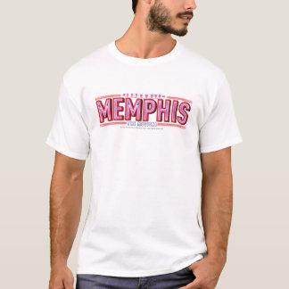 メンフィス-音楽的なロゴ Tシャツ