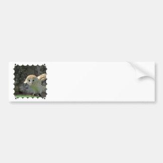 メンフクロウのバンパーステッカー バンパーステッカー