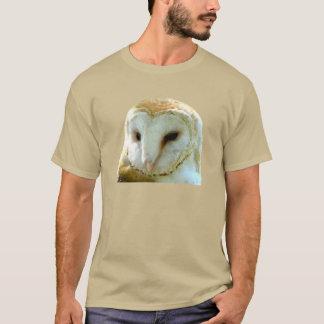 メンフクロウのポートレート Tシャツ