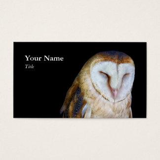 メンフクロウの名刺 名刺