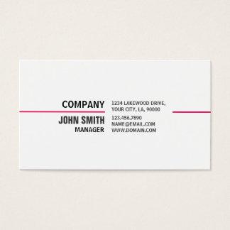 メーキャップアーティストの美容師のエレガントなプロフェッショナル 名刺