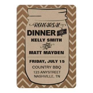 メーソンジャーのリハーサルの夕食 カード