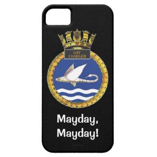 メーデー、メーデー、HMSのゲイの充電器 iPhone SE/5/5s ケース