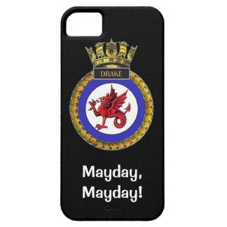 メーデー、メーデー、HMSドレーク iPhone SE/5/5s ケース
