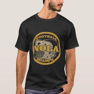 メートルカバーフットボールのチャンピオン Tシャツ