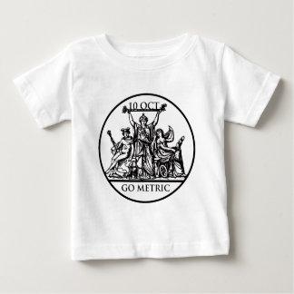 メートル幼児Tシャツは行きます ベビーTシャツ