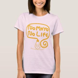 メーヨー無し生命無し Tシャツ
