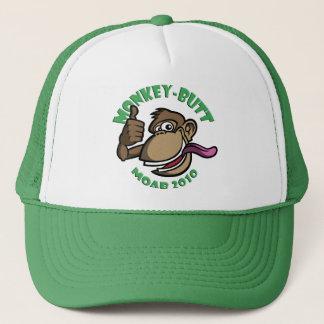 モアブ猿のお尻-帽子-緑 キャップ