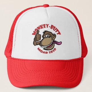 モアブ猿のお尻-帽子-赤 キャップ
