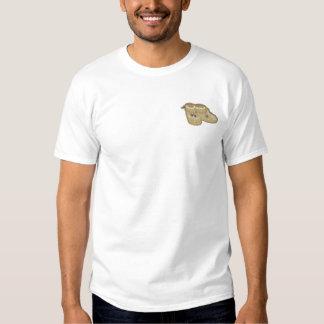 モカシン 刺繍入りTシャツ